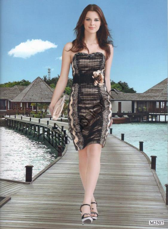 f39a87984f Francia csipke szatén ruha - Cool Fashion