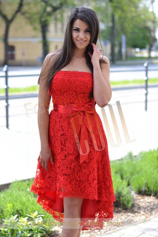 41467a8102 Francia rövid csipke ruha - Cool Fashion