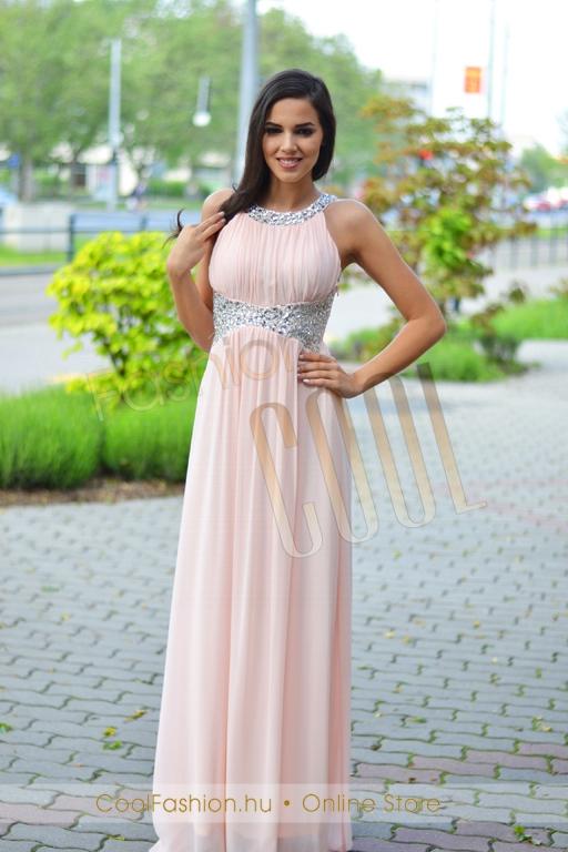 989a7c1ff4 Köves görög maxi ruha - Cool Fashion