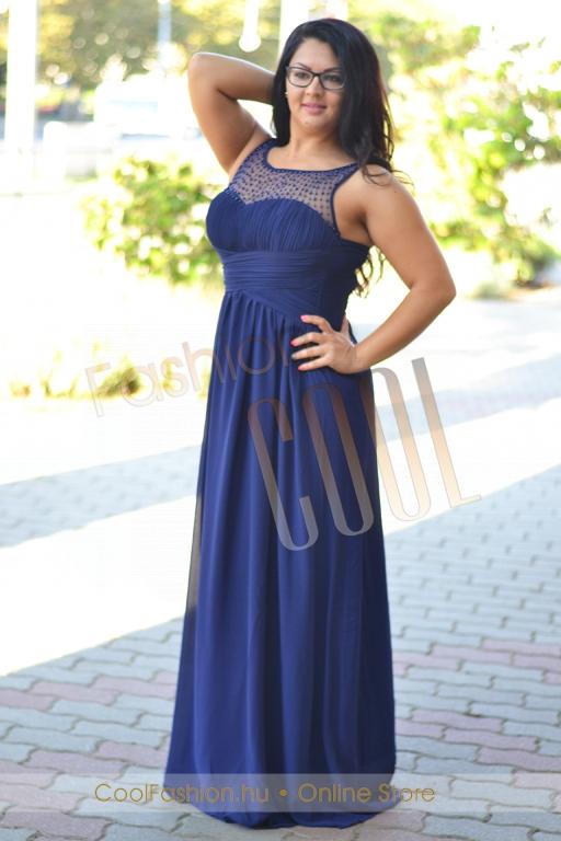 aaf240c569 Nagyméretű gyöngyös muszlin maxi ruha - Cool Fashion