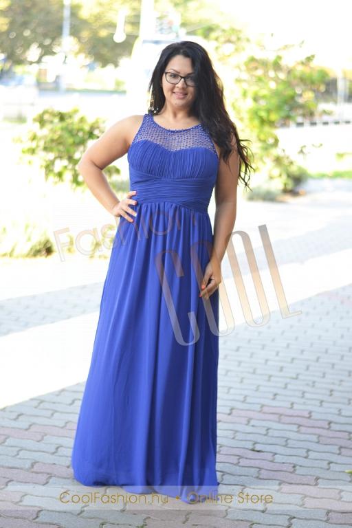 ab82b3beb0 Nagyméretű gyöngyös muszlin maxi ruha - Cool Fashion