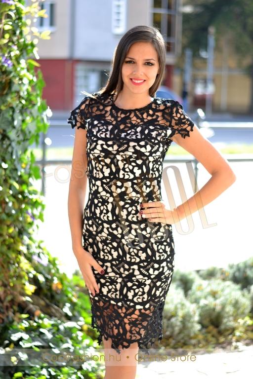 4096d0bc1d Nagyméretű horgolt csipke ruha - Cool Fashion