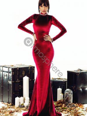 barsony bordo maxi ruha