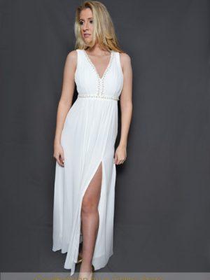 fehér muszlin maxi ruha merryl