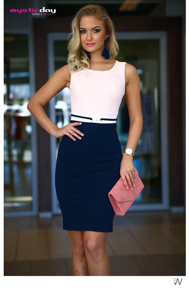 bc52c17363 Habcukor púder-kék ruha - Cool Fashion