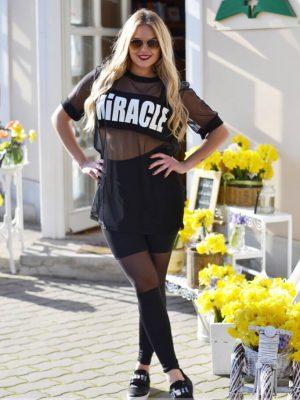 fekete neccbetétes leggings debrecen