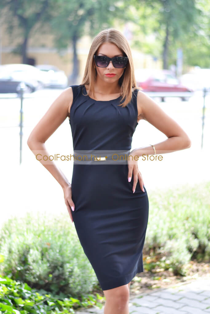 5b523d18f7 Habcukor fekete ruha - Cool Fashion