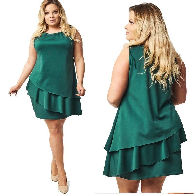 Molett kötős fodros ruha - Cool Fashion 046083db4a