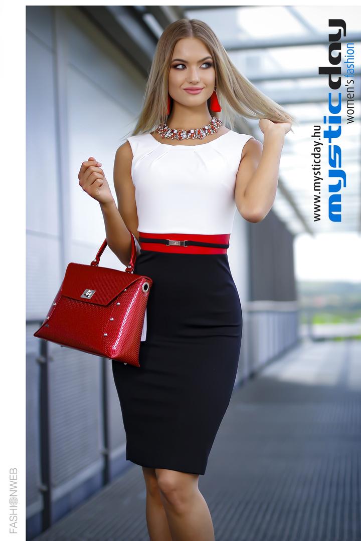 ff4c318d84 Habcukor krém-fekete ruha - Cool Fashion