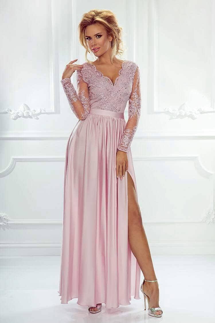 6d16206864 Selymes flitteres h.ujjú maxi ruha - Cool Fashion
