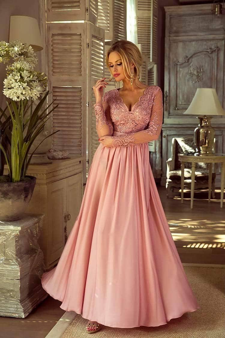 c427dae0c7 Selymes flitteres h.ujjú maxi ruha - Cool Fashion