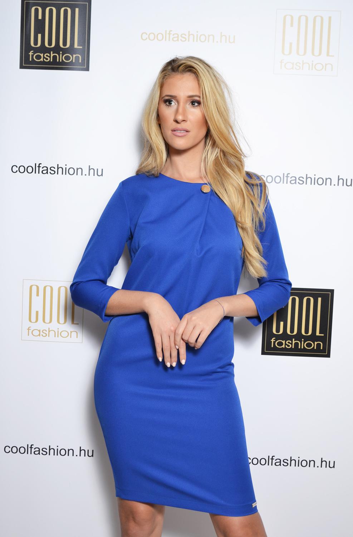 Adina királykék ruha - Cool Fashion cfa9118cd9