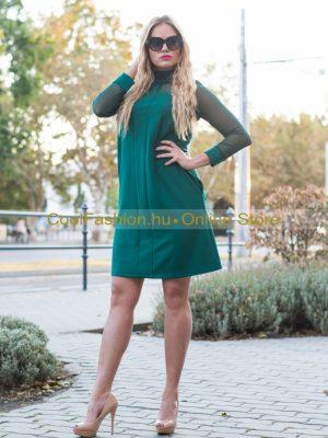 zöld A vonalú ruha mystic day