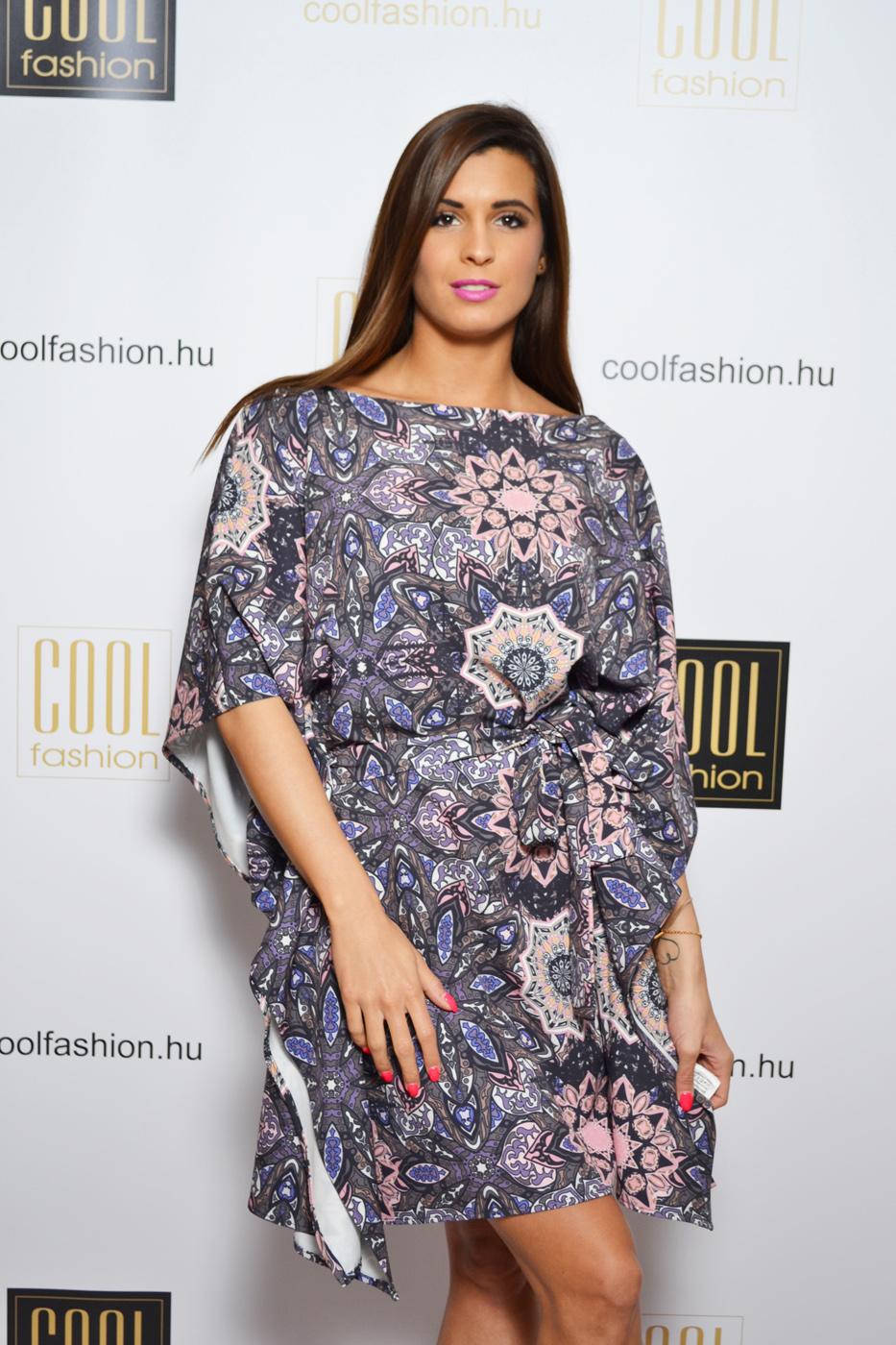 1ed9a9d69a Mintás lepel ruha - Cool Fashion