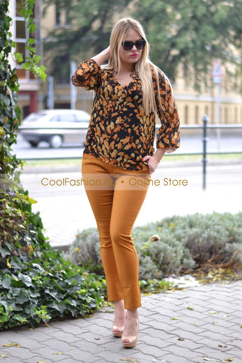 Csipke derekú nadrág - Cool Fashion d628c94654