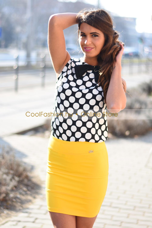 Darabolt mini pamut szoknya - Cool Fashion 9ace487c41