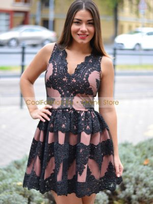 fekete nude csipkés loknis ruha debrecen