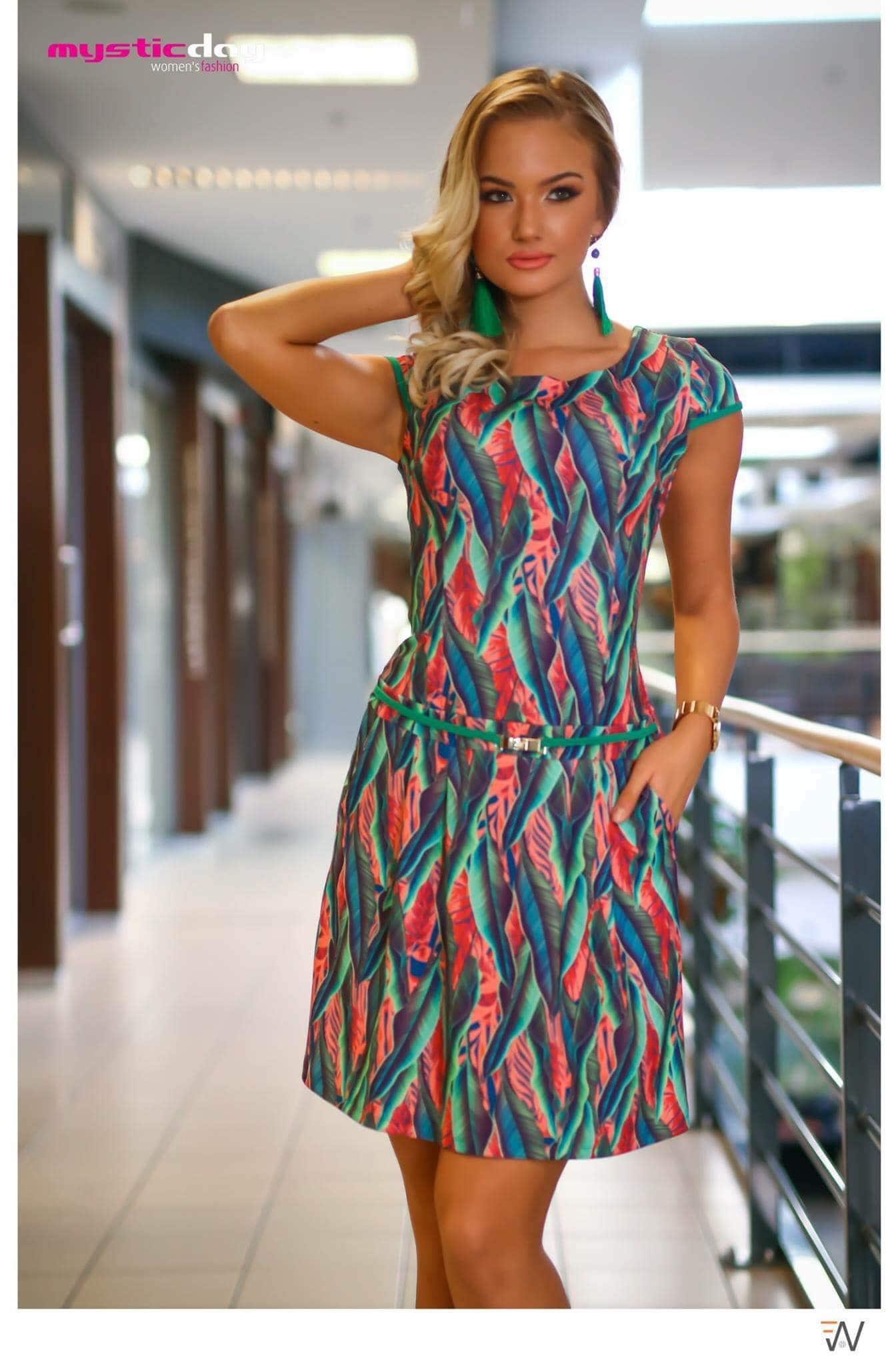 d2394a0450 Borcsa leveles zsebes ruha - Cool Fashion