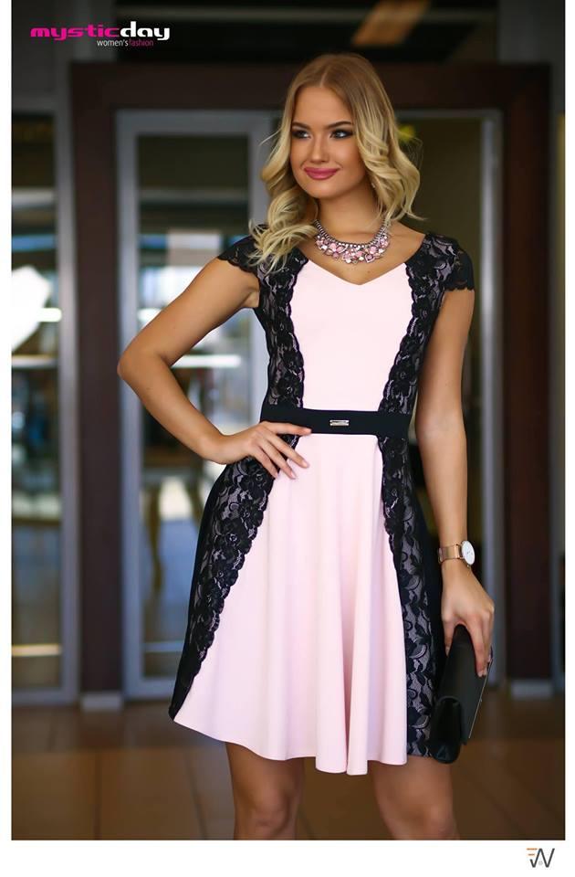 30bc9fdc09 Oldalt csipkés loknis ruha - Cool Fashion