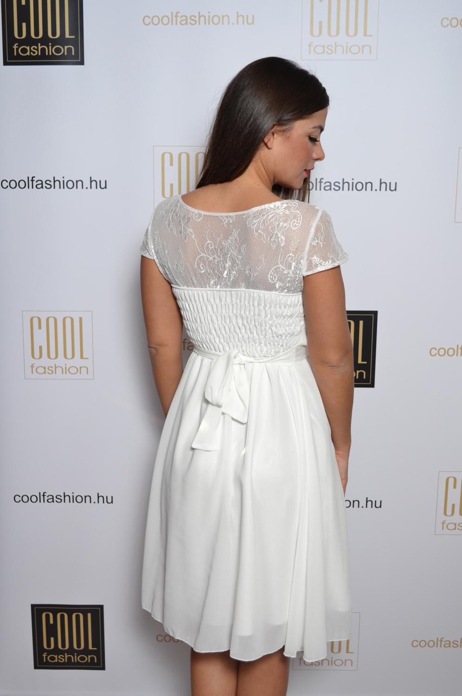 03409e53c7 Athéné fehér muszlin ruha - Cool Fashion