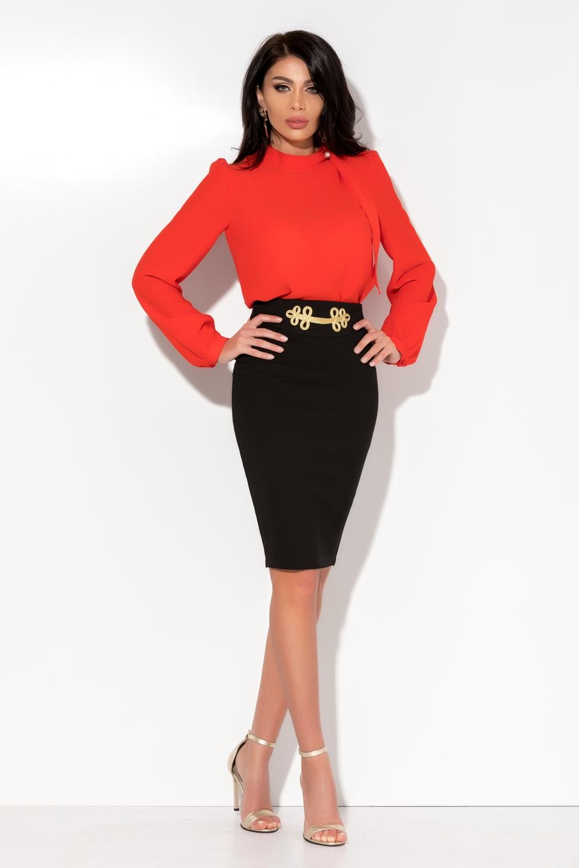 4207f2dd0f Fekete arany mintás derekú szoknya - Cool Fashion