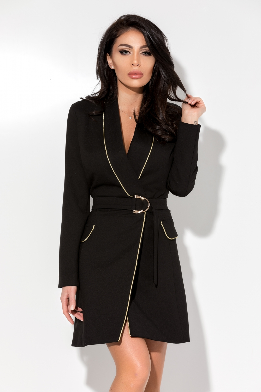 1eef0f2cfc Fekete-arany ruha - Cool Fashion