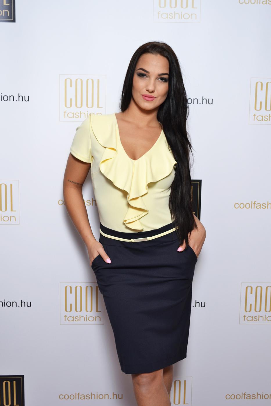 c54b7a2fcb Sissy zsebes fodros ruha - Cool Fashion