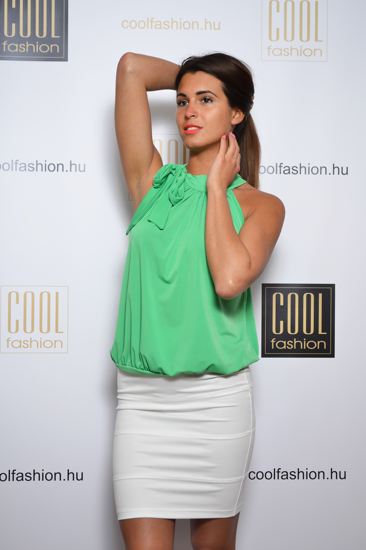 67df04691d Darabolt pamut térd szoknya - Cool Fashion