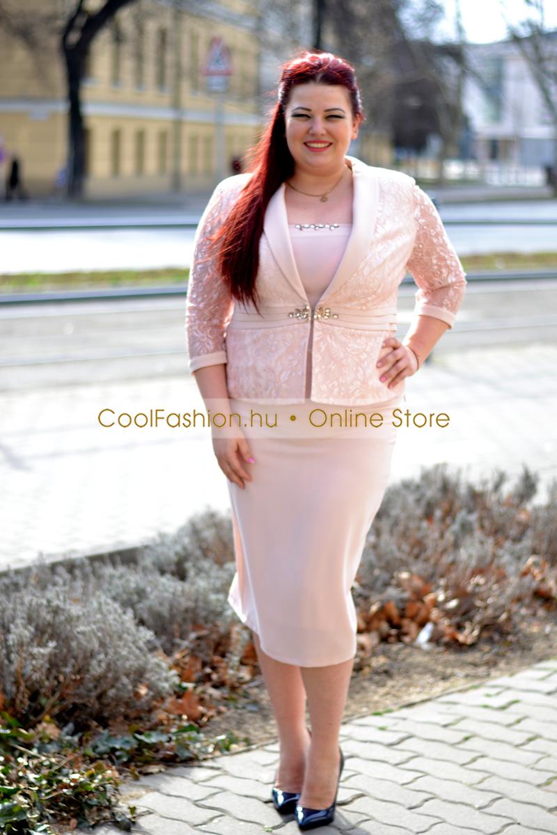 688fcf6810 Örömanya kosztüm 3 részes púder - Cool Fashion