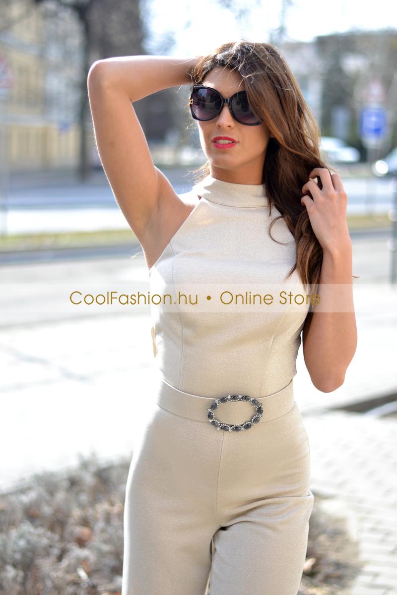b6751c9155 Fervente öves lurex overál - Cool Fashion