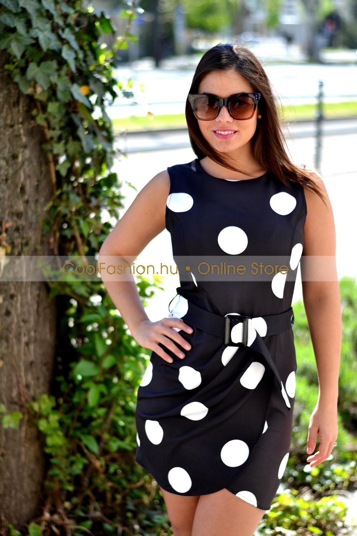 207a918239 Pingvin pöttyös ruha - Cool Fashion