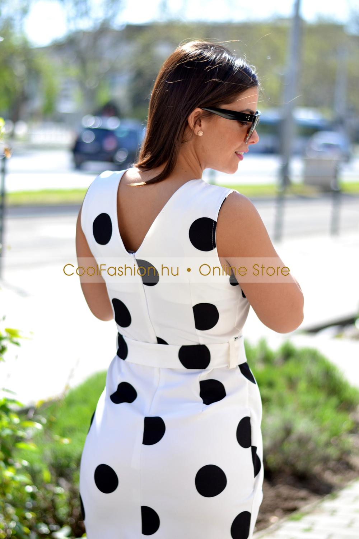 c57ff9cb38 Pingvin pöttyös ruha - Cool Fashion