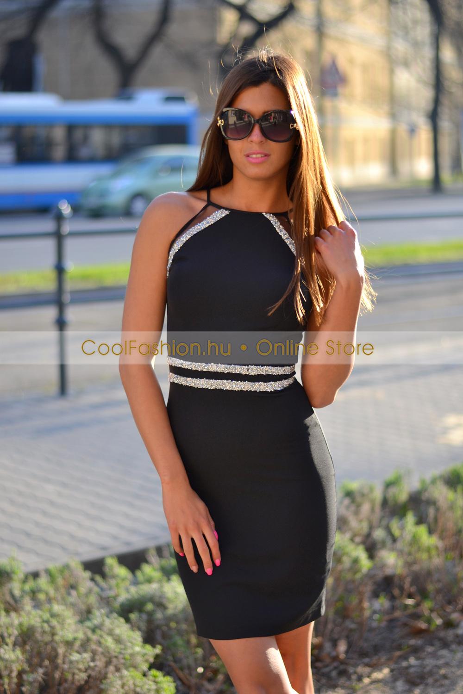 b1781bf913 FV köves vászon ruha - Cool Fashion