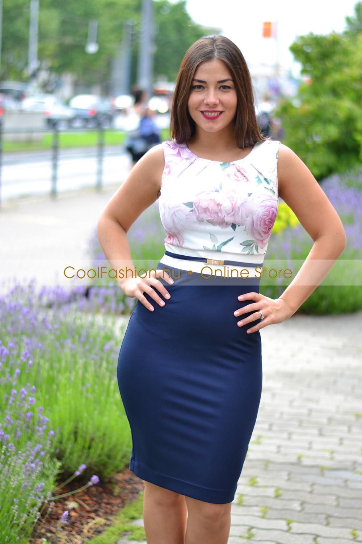 bdc9f5153b Habcukor virágos ruha - Cool Fashion