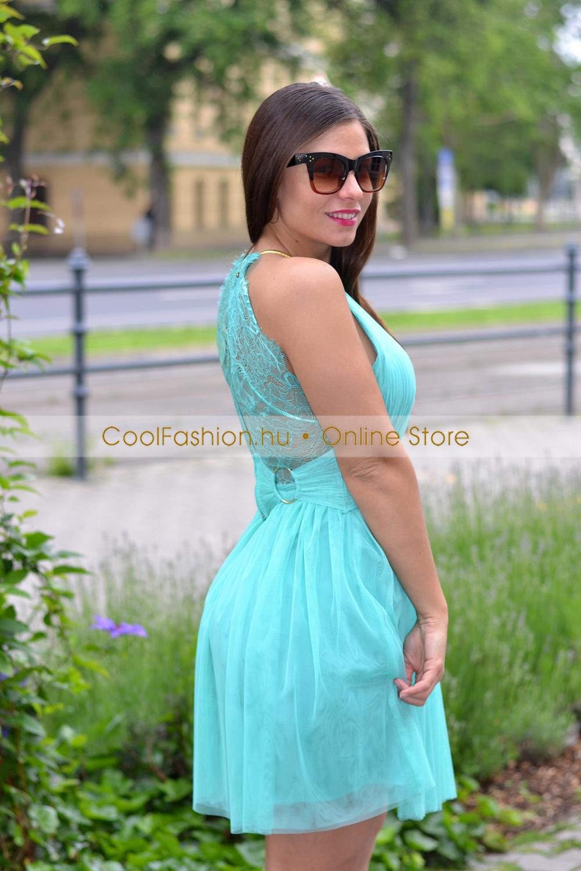 d0ae79b77d Csipkés-necc karikás loknis ruha - Cool Fashion