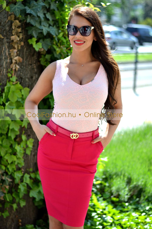 cbe8c32951 Eva hátul kivágott csipkés body - Cool Fashion