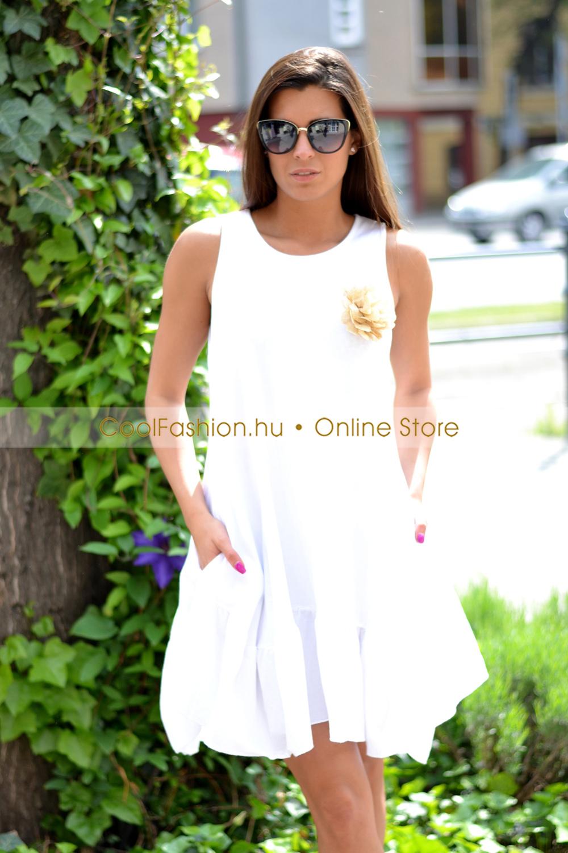 b07b843b83 Hagyma pamut kánikula ruha - Cool Fashion