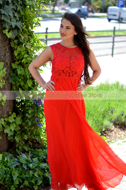 Lila csipkés tüll loknis ruha - Cool Fashion