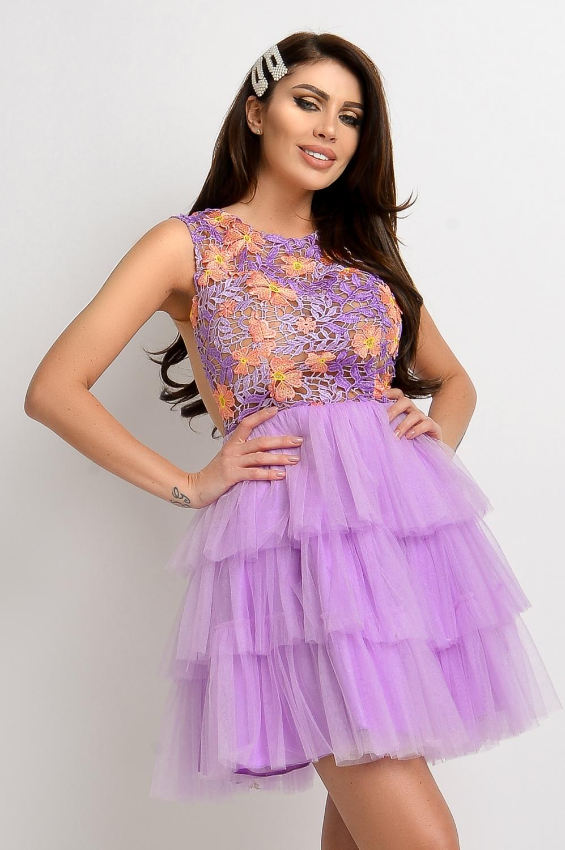 Necc ujjatlan muszlin maxi ruha - Cool Fashion