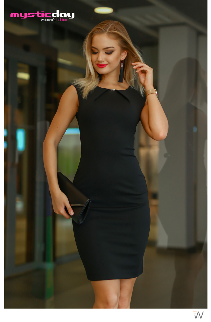 671dde5d0e Elif fekete ruha - Cool Fashion