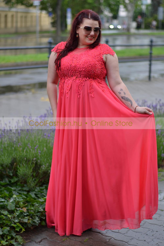20a89c7c75 Zsüliett köves csipkés molett maxi ruha - Cool Fashion