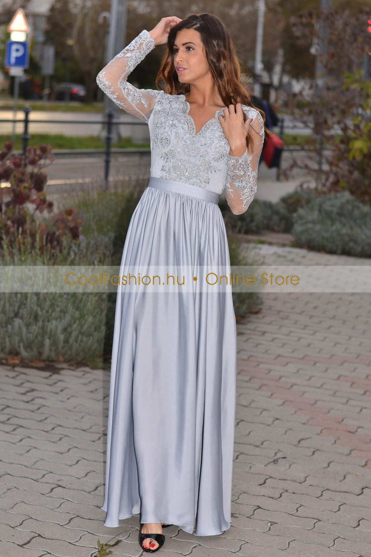 Fehér köves alkalmi maxiruha 14 990 Ft Megvásárolható női