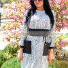 Miletta piton mintás buggyos zsák ruha