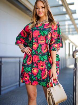 Mariann kalocsai mintás ruha
