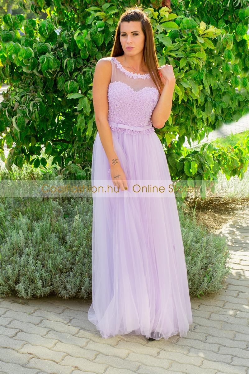 Nagyméretű gyöngyös muszlin maxi ruha - Cool Fashion